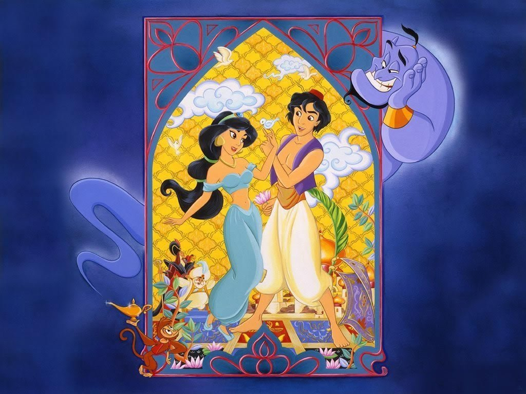 Edible Pictures Aladdin