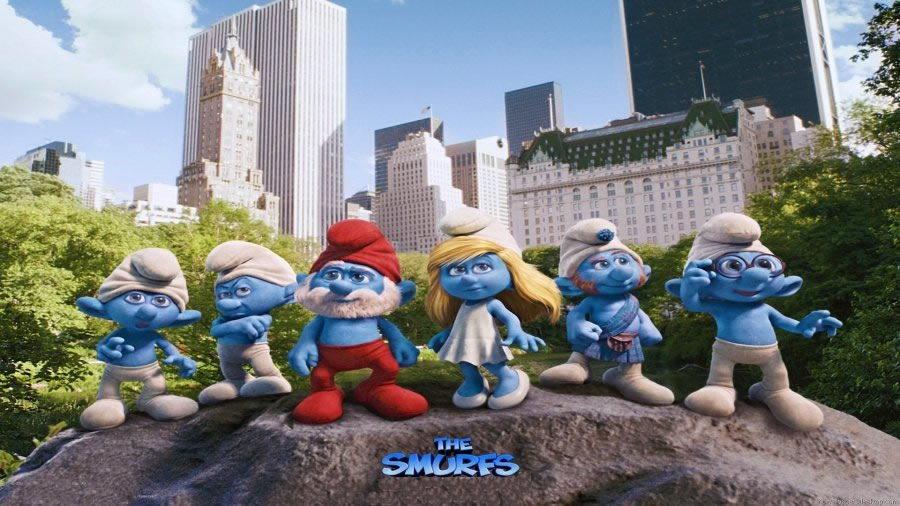 Edible Pictures The Smurfs