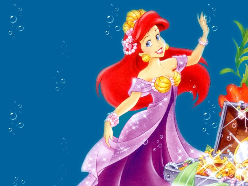 Edible Pictures Ariel The Little Mermaid
