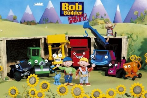 Edible Pictures Bob the Builder
