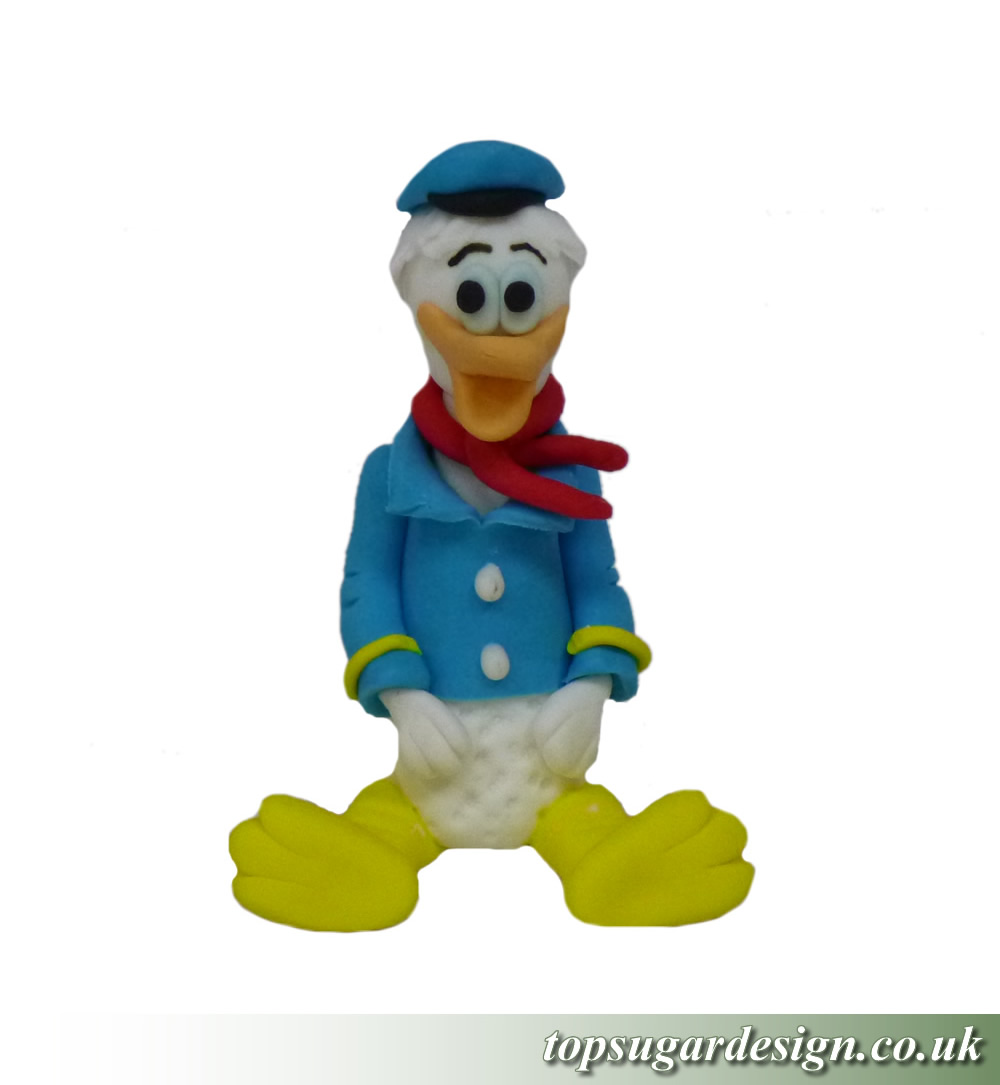 Icing Figures Donald Duck