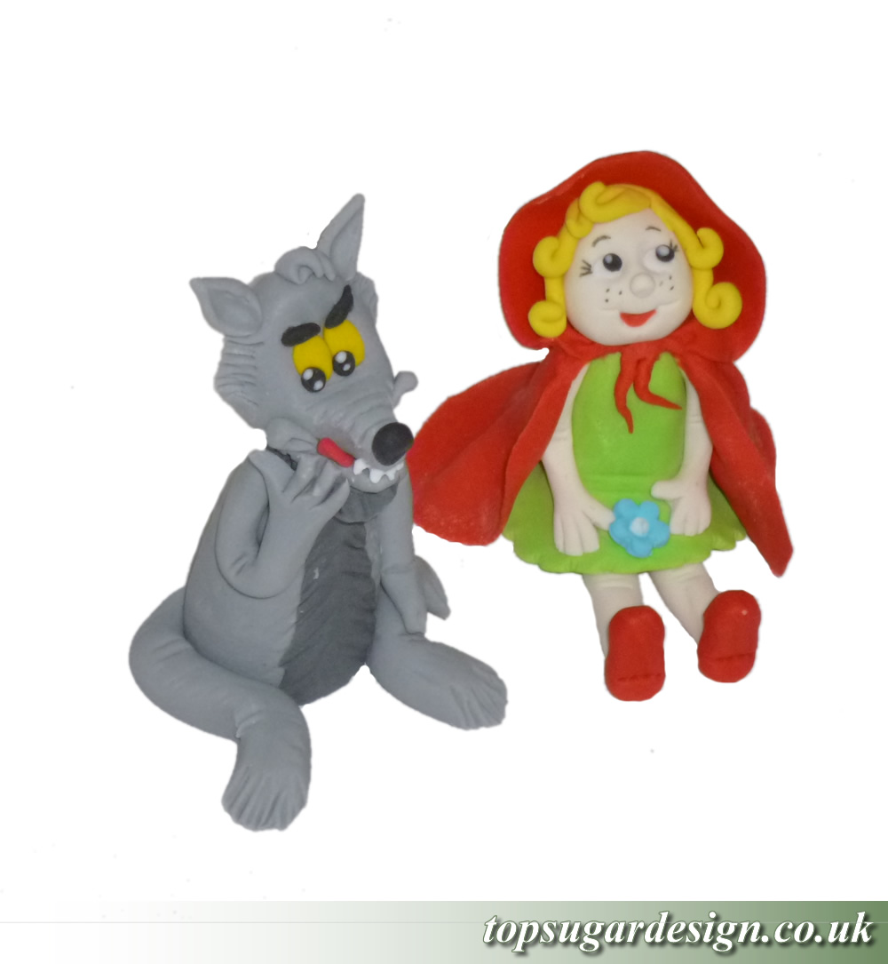 Icing Figures Little Red Riding Hood 2