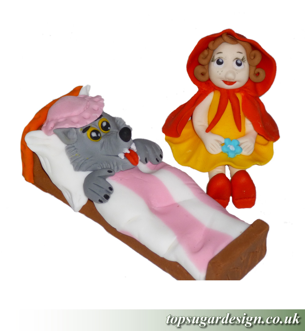 Icing Figures Little Red Riding Hood