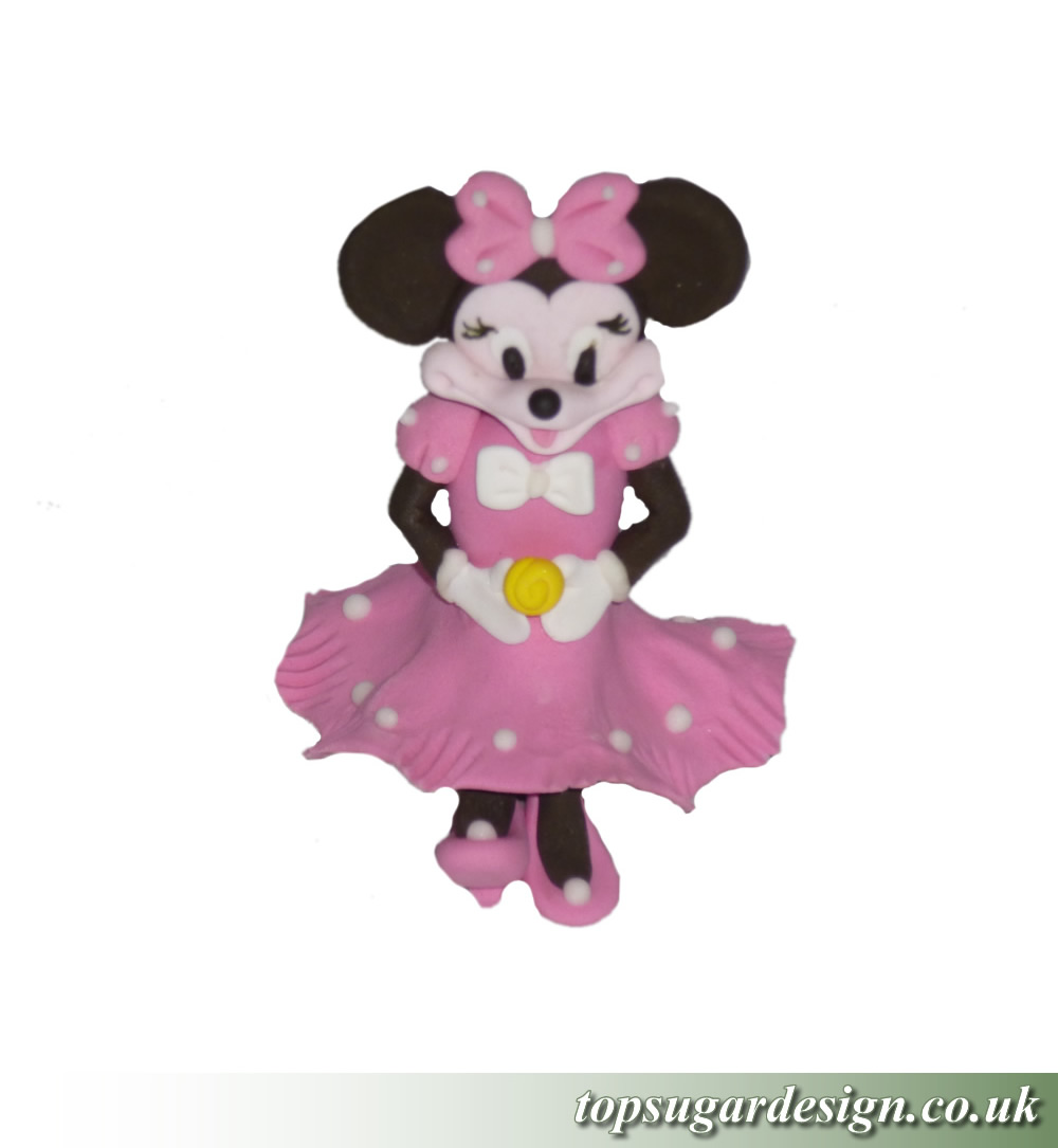 Icing Figures Minnie Mouse