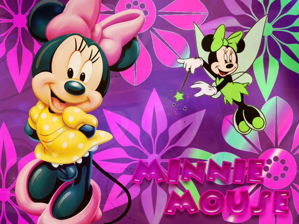 Edible Pictures Mickey and Minnie