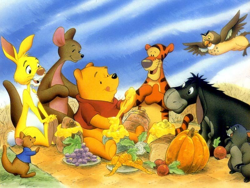 Edible Pictures Winnie the Pooh