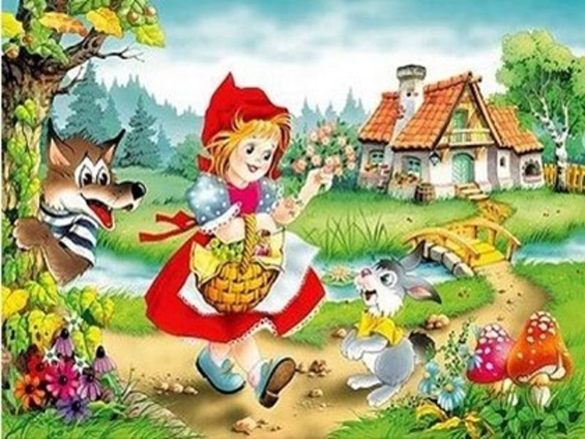 Edible Pictures Little Red Riding Hood